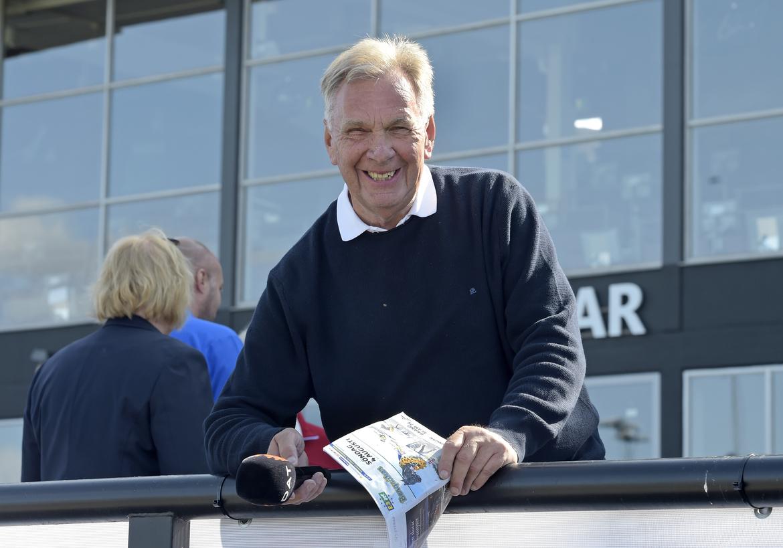 Mr Bergsåker, Börje Andersson, fyller 70 år och bjuder på spikförslag till veckans fyra V75-omgångar. Lars Jakobsson TR Bild.