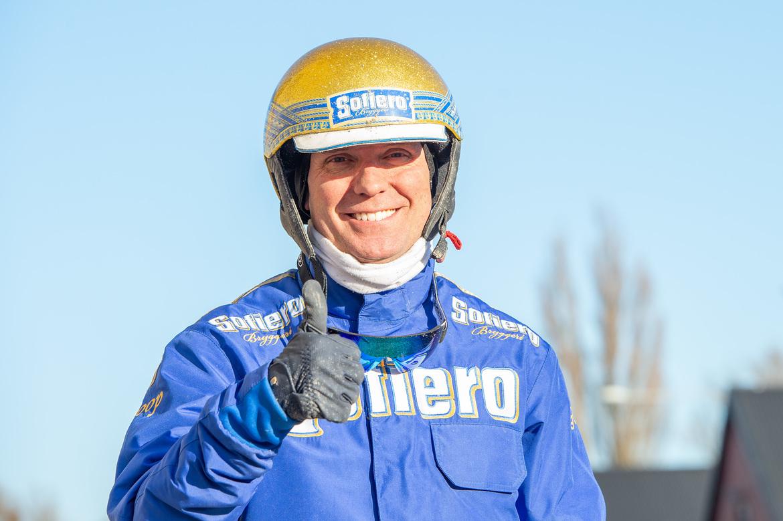 Björn Goop vann sju lopp under veckan som gick. Mikael Rosenquist/TR Bild.