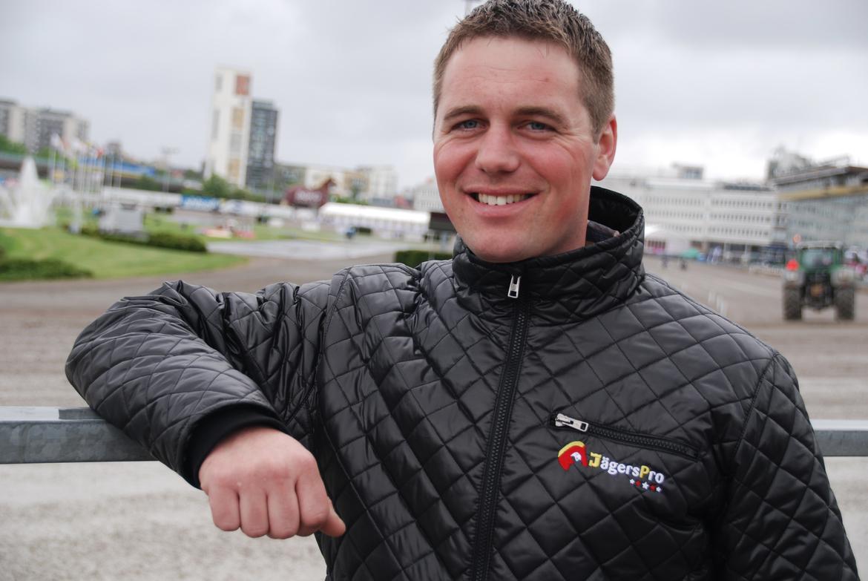 Michael Lönborg var tidigare verksam i Sverige som tränare. På onsdag kommer dansken med en häst till V86 på Åby.