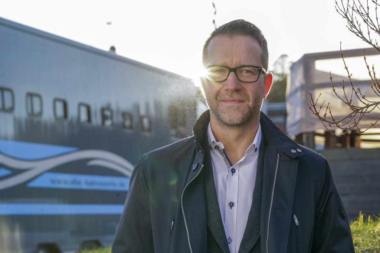 Solvallas sportchef Anders Malmrot. Thomas Blomqvist, TR Bild.