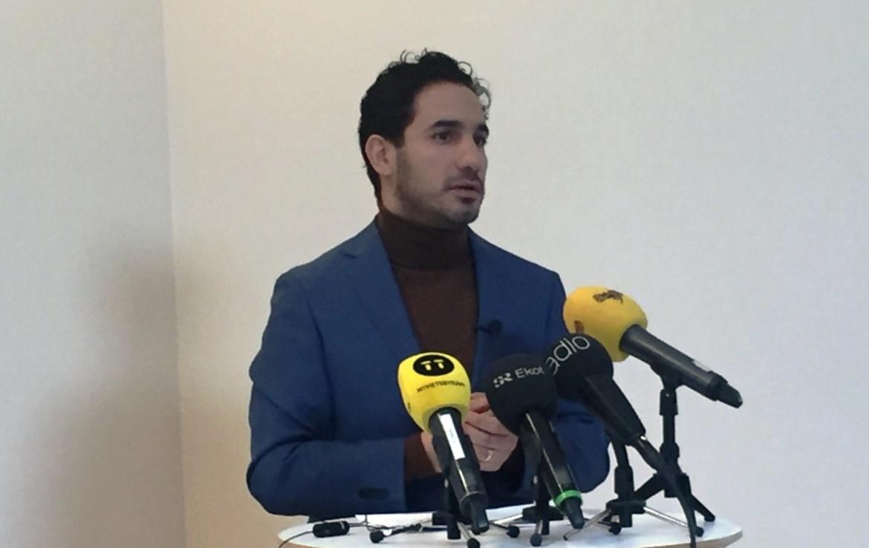 Socialförsäkringsminister Ardalan Shekarabi.  Svensk Travsport.