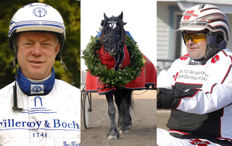 Jim Frick, Moe Odin och Erik Berglöf tar plats i Hall of Fame. Svensk Travsport.