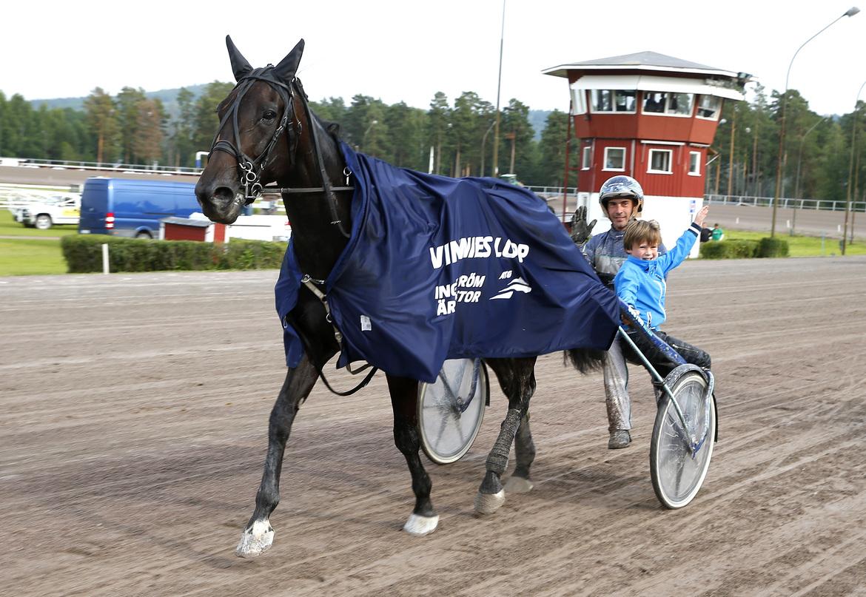 Highspirit och Troels Andersen Micke Gustafsson, TR Bild.