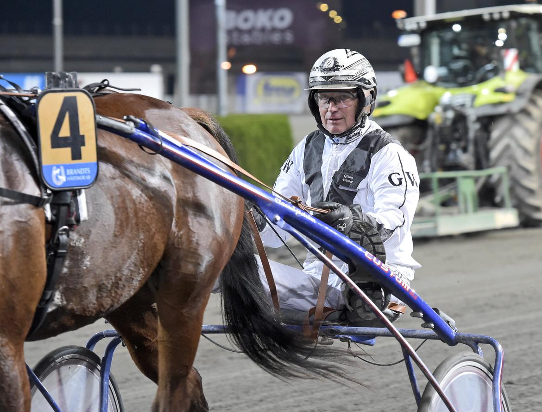 Göran Wester vann med Eddy West. Lars Jakobsson TR Bild.