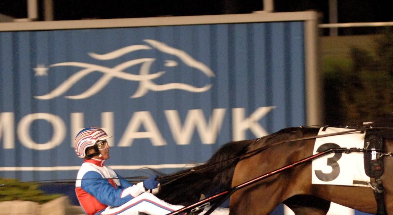 Miljonloppet på Woodbine Mohawk Park på lördag är för tvååriga hästar. Lars Jakobsson TR Bild.