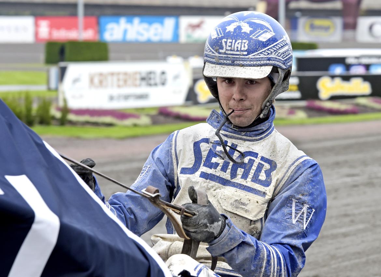 Daniel Wäjersten har två chanser i Svampen.  Lars Jakobsson TR Bild.