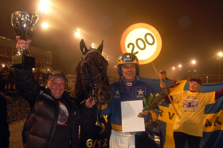 200e segern för Järvsöfaks firades 6 december 2009 på Umåker.