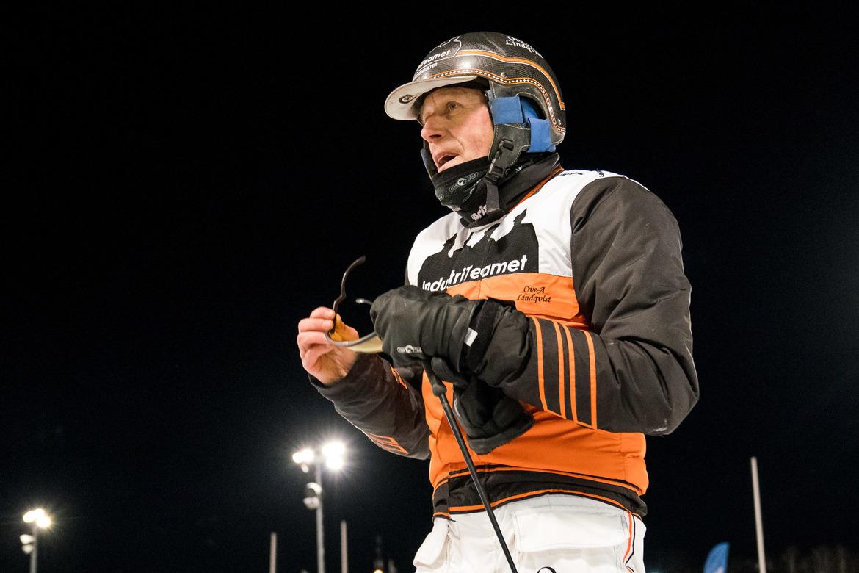 Ove A Lindqvist kör fyra hästar på V75®. TR Bild.