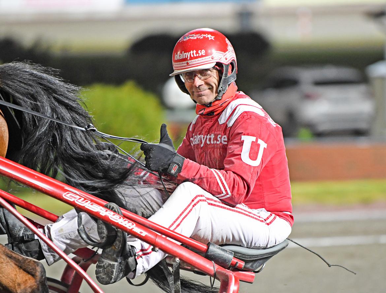 Peter Untersteiner har fem hästar till start på V86®. Malin Albinsson TR Bild.