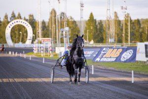 Bild från tävlingar på Bodentravet i augusti i år.