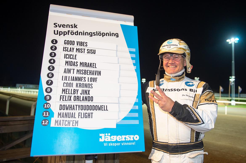 - Tre med i finalen av Svensk Uppfödningslöpning!