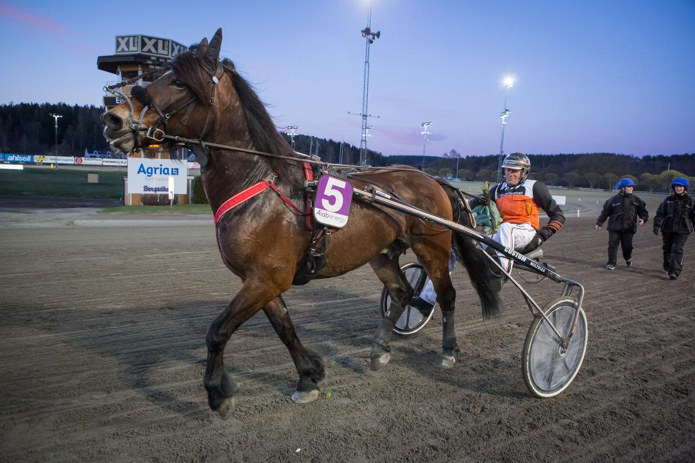 Don Viking och Ove A Lindqvist vid tidigare seger. David Schreiner TR Bild.