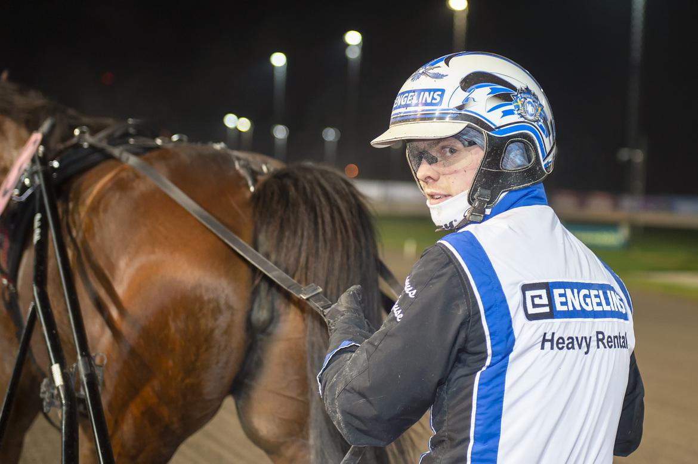 Magnus A Djuse vann tio lopp förra veckan. Mikael Rosenquist TR Bild.
