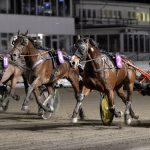 Disco Volante och Ulf Ohlsson håller undan till seger i gulddivisionen i Bollnäs på lördagen.