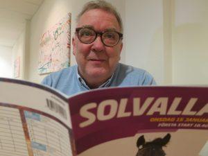 Håkan Ahlqvist var med när hästarna travadde in i TV4.