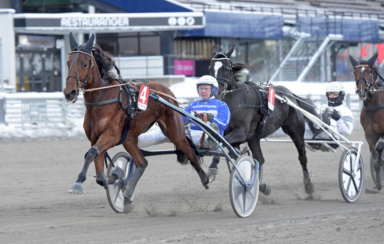 Marion Fouty Bon och Jorma Kontio. Lars Jakobsson/TR Bild.