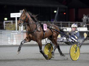 Reima Kuisla köper Stefan Melanders färske gulddivisionsvinnare Evaluate. Lars Jakobsson TR Bild.