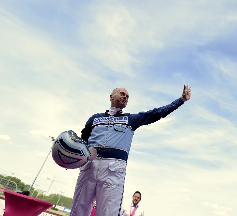Frode Hamre har två bra chanser när elitloppshelgen på Solvalla inleds på fredagen. TR Bild.