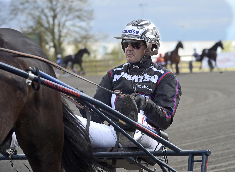 Ulf Ohlsson vann elva lopp på svenska travbanor förra veckan. Lars Jakobsson TR Bild.