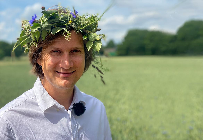 Matteus Lillieborg tillbaka med sin intervjupodd Hovavtryck.
