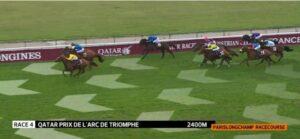 Prix de l'Arc de Triomphe bjöd på en fantastisk spännande finish där till slut tyske stjärnan Torquator Tasso sluggade sig till segern.