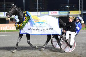 Very Kronos tog hem Svenskt Mästerskap för andra året i rad. Malin Albinsson/TR Bild.